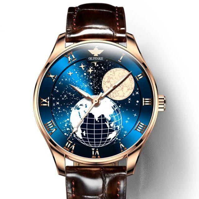 Luxury Men's Automatic Mechanical Moon Phase Watch Mechanical Watches Men's Watches New Arrivals